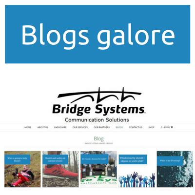 Bridge Systems Ltd - Blog page preview