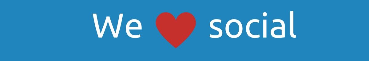 We love social - link to all Bridge Systems Ltd social media