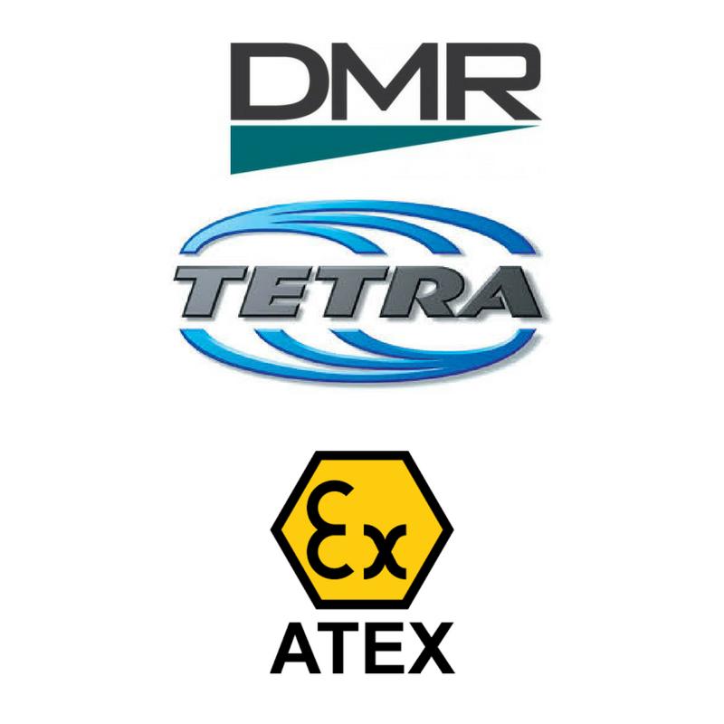 Hytera standards; DMR, TETRA ATEX