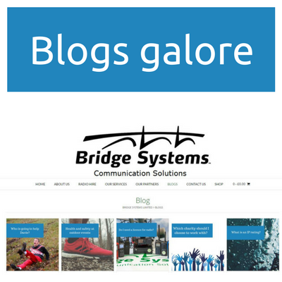 Bridge Systems Ltd - Blog page preview