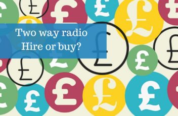 two way radio hire or buy
