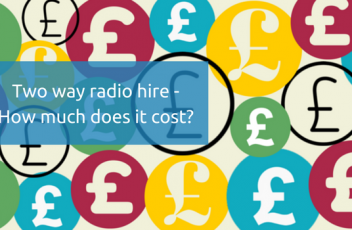 Two way radio hire, how much does it cost- (1)