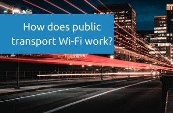 How does public transport Wi-Fi work