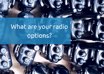 What are you two way radio options-