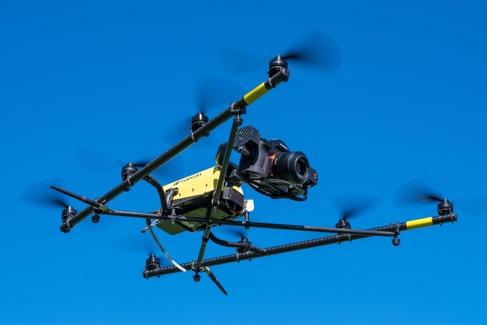 Aerial Media Scotland - camera drone