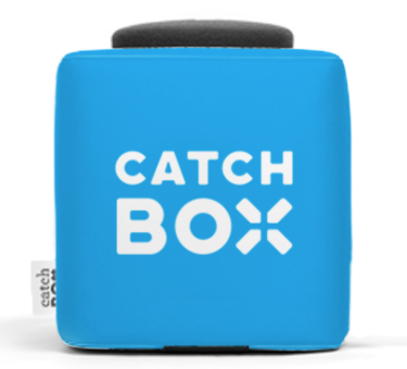 Catchbox - throw-able microphone
