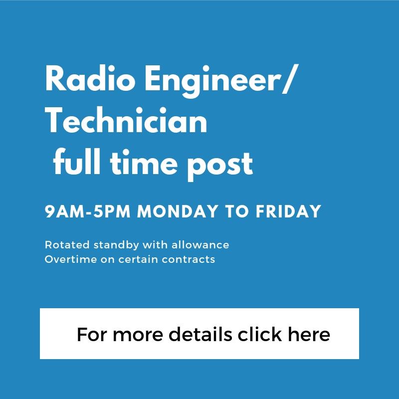Radio Engineer_ Technician full time post