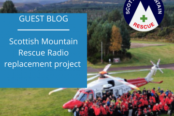 Scottish Mountain Rescue radio replacement